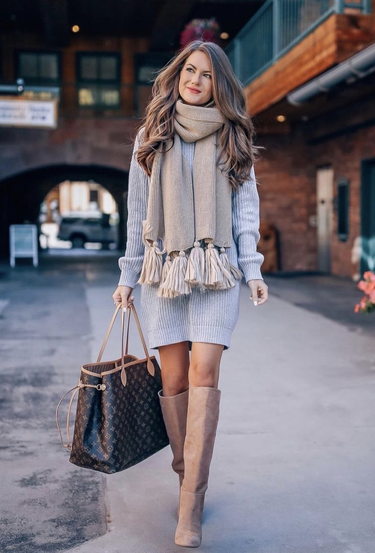 Casual Winter Outfits Dresses