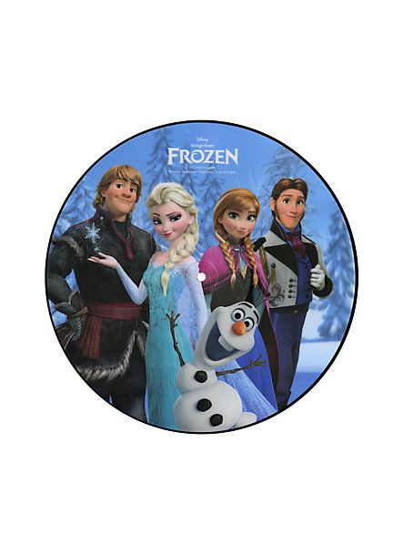 Disney Songs From Frozen Vinyl LP Hot Topic Exclusive | Hot Topic
