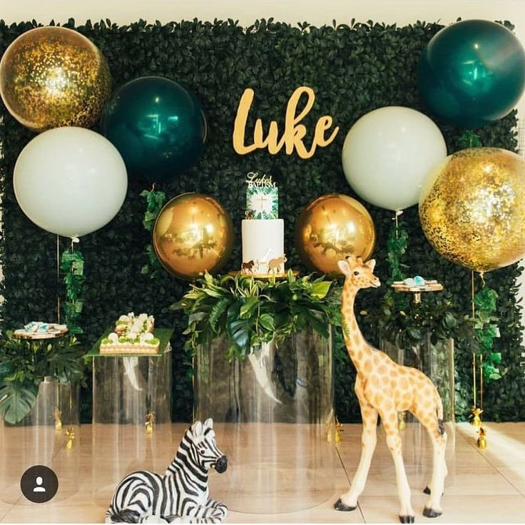 Jungle Party | Welcome to a jungle celebration! 🦓🐅🦍🐘🦁