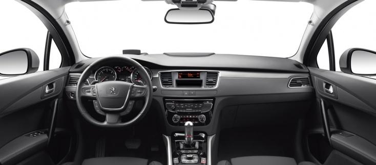 Peugeot 508, interior.