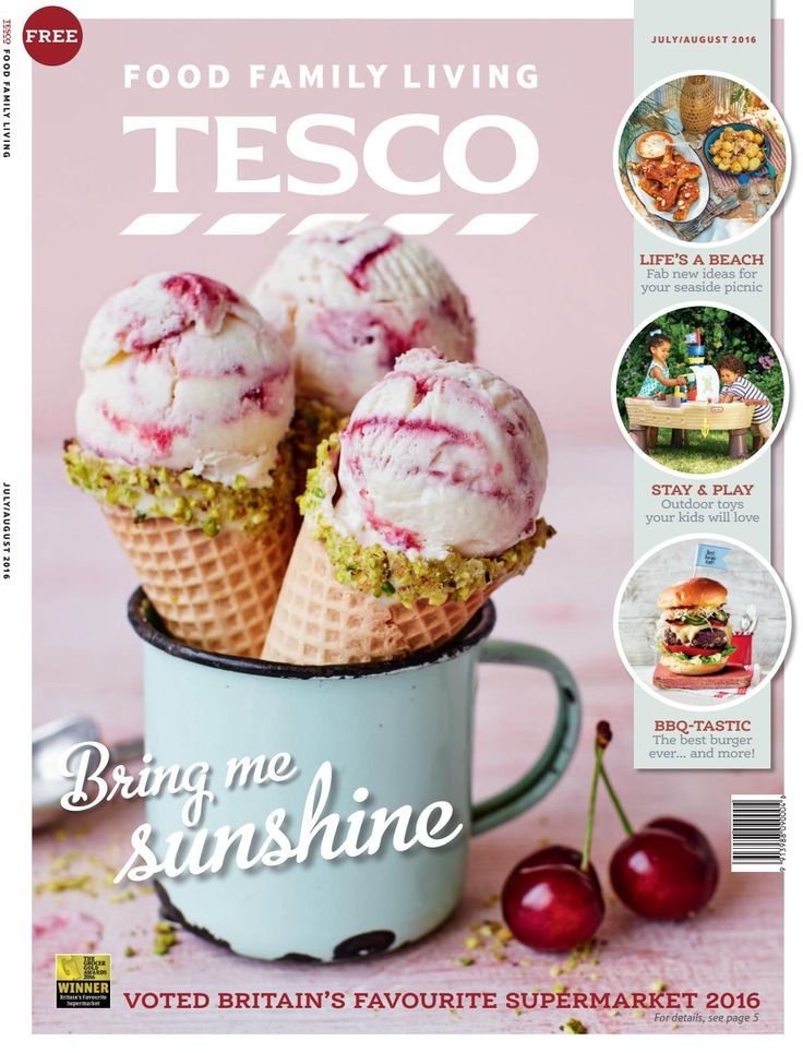 Tesco magazine – July/August 2016