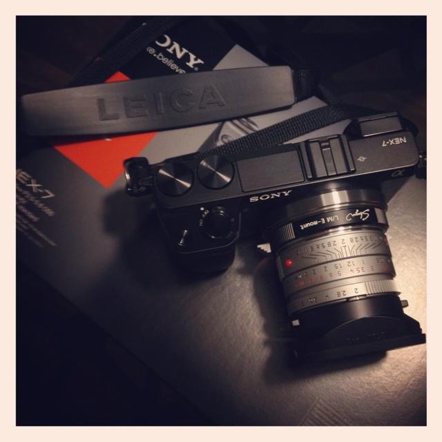 Nex 7 with Summicron 35mm