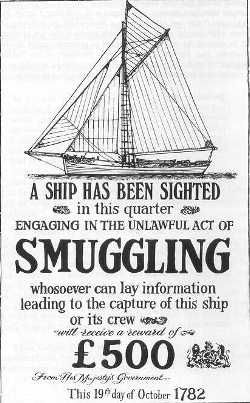 History of smuggling in Polperro, Cornwall, UK