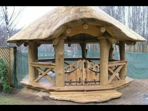 🔴 Wooden GAZEBO. The best! ▶️ More Than 50 Options! – YouTube