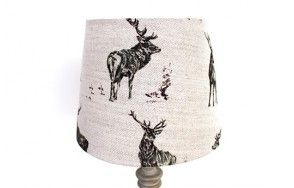 Stag capers lamp shade www.waringsathome.co.uk
