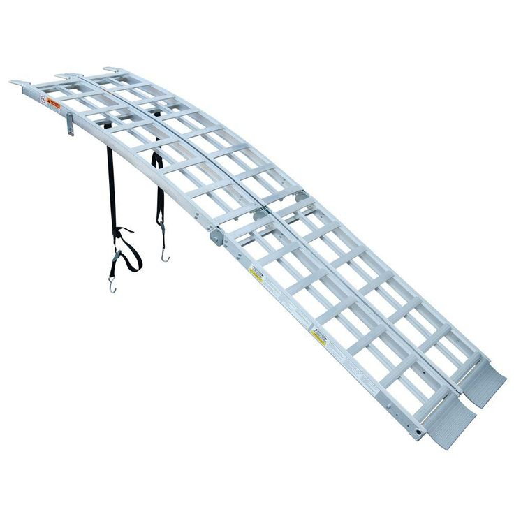 Multi-Purpose Folding Arched Truck Ramps (1-Pair)