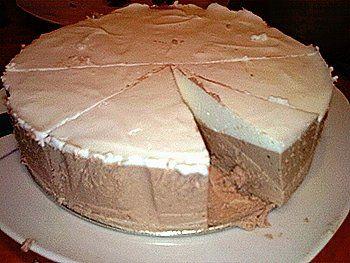 Tvarohový dort odtučněný
