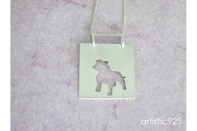 Love Staffordshire Bull Terriers by Artistic 925
