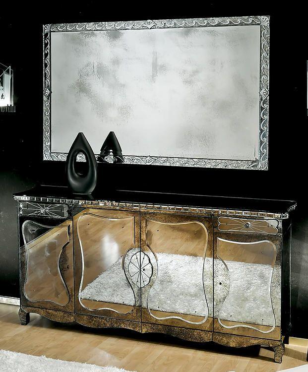 David Michael U2022 AV 2520 U0026 U2022 AV 99007 Buffet U0026 Mirror | David Michael  Furniture | Pinterest | Mirror