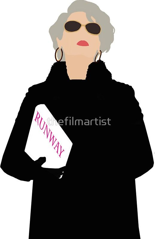 e11a1b8efc32b Miranda Priestly- The Devil Wears Prada | Sticker in 2019 | Crap I ...