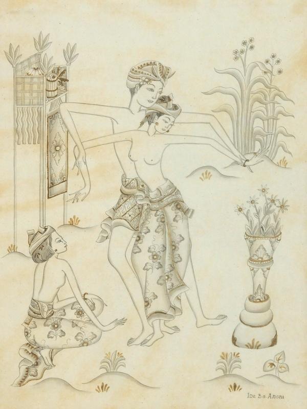 "Ide Bagus ""Balinese Dance"""