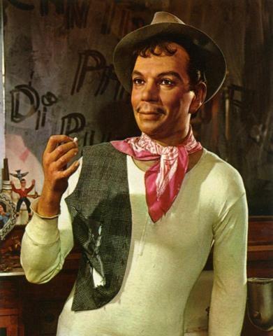 El famoso cómico mejicano Mario Moreno (Cantinflas).