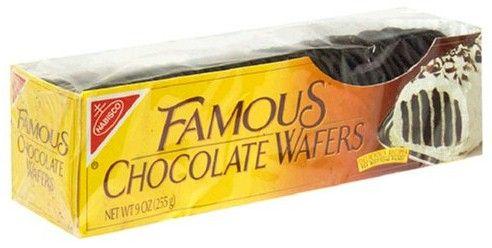 Nabisco Chocolate Wafers Round Cake