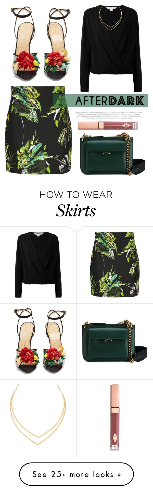 """Copacabana"" by blueyed on Polyvore featuring Proenza Schouler, Marni, Diane Von Furstenberg, Charlotte Olympia, Lana and Charlotte Tilbury"