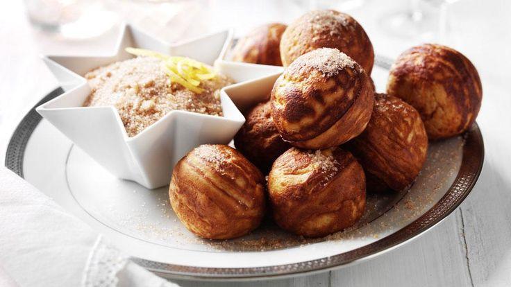 Æbleskiver, les crêpes de Noël