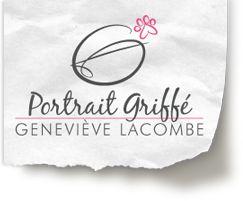 Portrait griffe photographe pour animaux - logo
