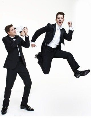 THE ULTIMATE TWINSET: JACK AND FINN HARRIES! Who's who? Who cares! A Tatler exclusive with Jack and Finn Harries, the hottest boys in the world (just ask their 50 million adoring fans). If you don't fancy them, you don't have a pulse. Fact. By Sophia Money-Coutts ...   read the article :D