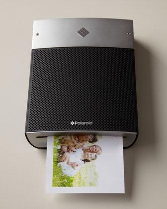 """Polaroid """"Instant"""" Printer at Neiman Marcus."""