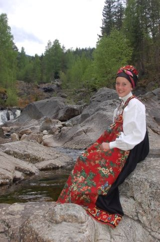 BUNAD from Vibekes Hjønnevåg, Gamle Nes, Nesbyen i Hallingdal