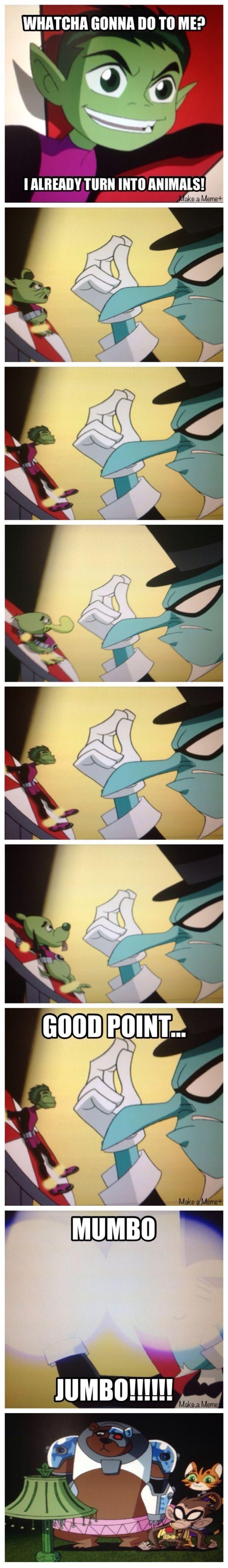 Funny Teen Titans moment