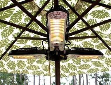 Fire Sense Indoor Outdoor Infrared Heater With Patio