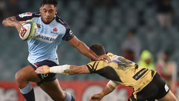 The NSW Waratahs ground their way to victory in their 2017 Super Rugby opener, prevailing 19-13 over the Force on a wet night at Allianz Stadium.
