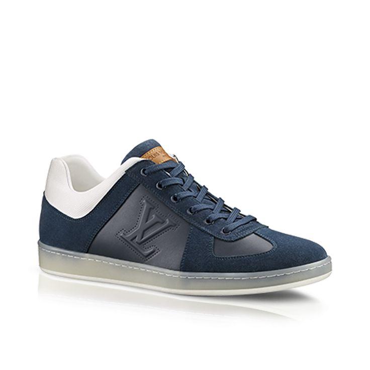 Sneaker montant Offshore en patchwork de cuirs via Louis Vuitton