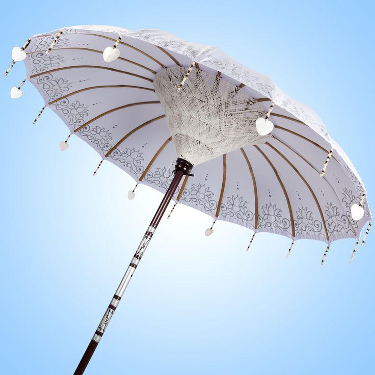 SILVER LIGHT - bali parasol