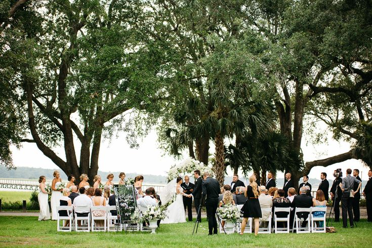 Logan & Hillary's wedding at the Lowndes Grove Plantation | Charleston SC | Photo by Lydia Ruth Photography