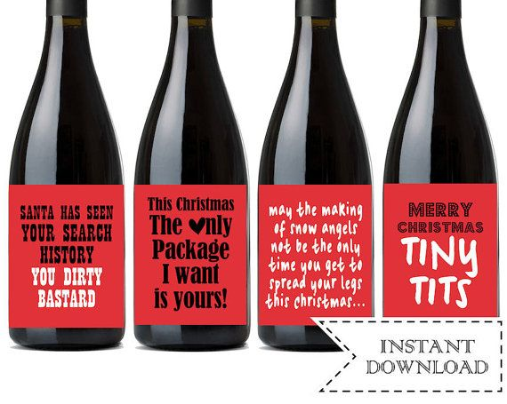 Best 25 funny wine labels ideas on pinterest diy wine bottle christmas wine labels instant download holiday wine bottle labels printable funny wine gifts solutioingenieria