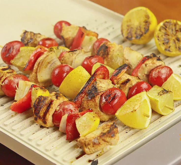 Grilled Marinated Chicken Kabob