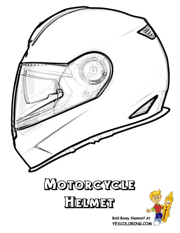 motorcycle helmet coloring pages 17 best images about mighty motorcycle coloring pages on
