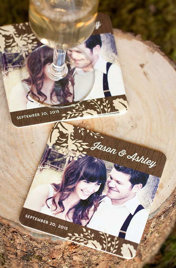 Cute Coasters! #wedding