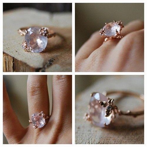 32+ Rose quartz wedding ring ideas ideas
