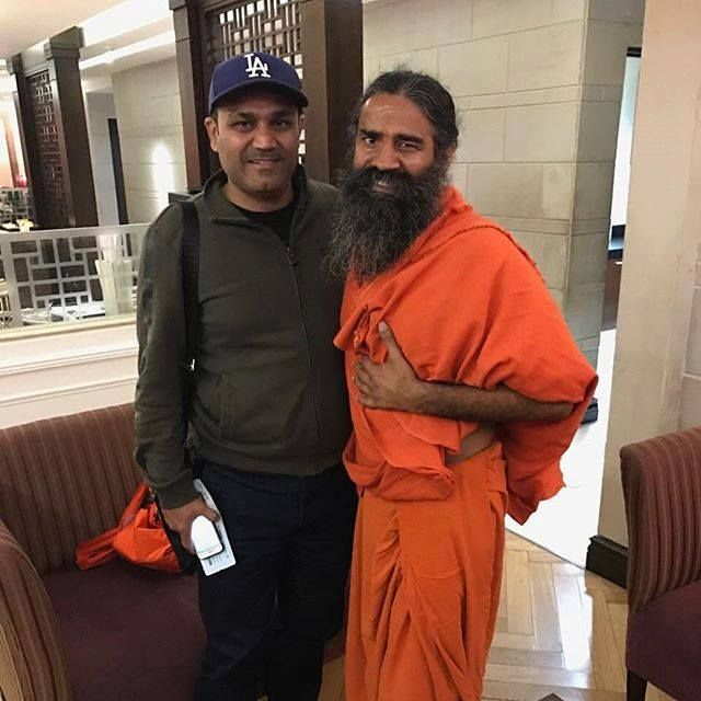 Cricketer Virender Sehwag is a hard core nationalist and it's always a delight to meet him. Nation is proud of such patriots