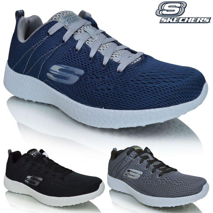 Skechers Men's Burst-Second Wind Low-Top Sneakers