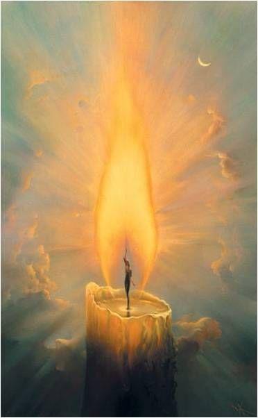 Sólo hace falta una llama, y esa llama la portamos en cada alma. La trasmitimos de diferentes maneras y de diferentes maneras la percibimos de los demás.