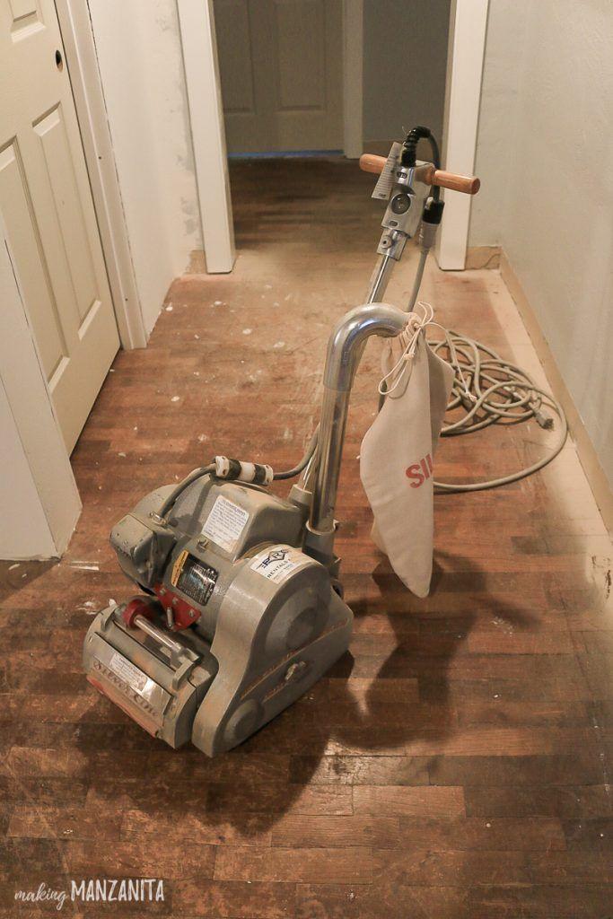 Hardwood Floor Refinishing Making Manzanita Refinishing Hardwood Floors Refinishing Floors Hardwood Floors