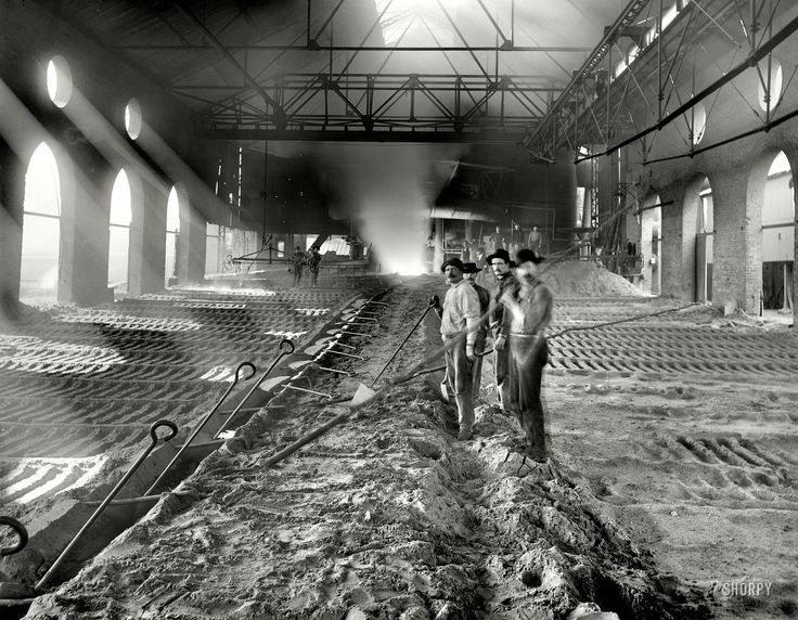 Shorpy Historical Photo Archive :: Iroquois Iron: 1901