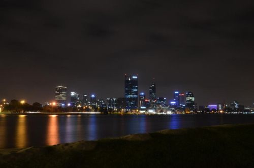 Perth City from South Perth |