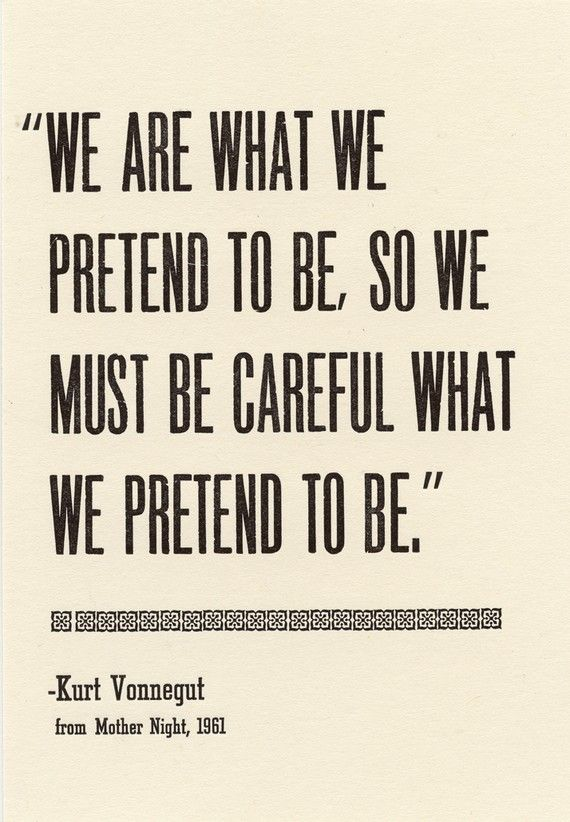Insight, Kurt Vonnegut, quote