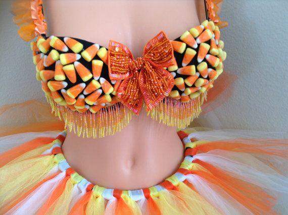 Costume adulte bonbons maïs 34C  automne par Crystalsandlaces