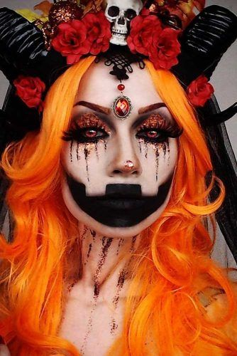 16 Horribly Exciting Scary Halloween Makeup Ideas