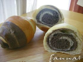 「【天然酵母】マーブルロールパン」ファンナイ   お菓子・パンのレシピや作り方【corecle*コレクル】