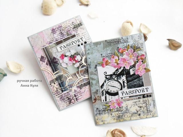 Лисичка со скалочкой: 2 обложки на паспорт, навеянные весной)