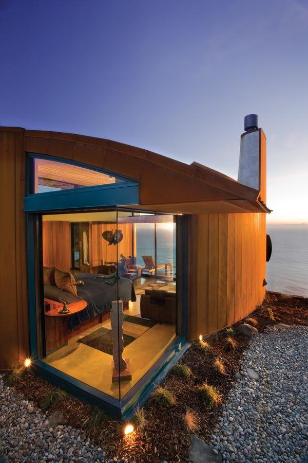 Stunning hotel along the Big Sur coastline!