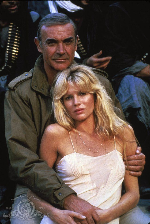 Kim Basinger and Sean Connery in Never Say Never Again