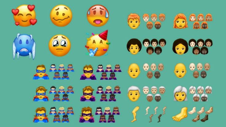 157 New Emojis Including Woozy Face and Pirate Flag are Coming to Your Phone Later This Year  The Unicode Consortium has released Emoji 11.0 data with 157 new emoji characters bringing the total number of approved emojis to 2823. The latest emoji list which is fixed and final includes a man and woman emoji in various hairstyles including red-haired curly-haired white-haired and bald as well new superhero and supervillain characters in multiple skin tones. All the newly made emojis should be…