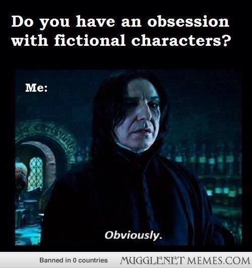 You just read that in Alan Rickman's voice - - Harry Potter Memes and Funny Pics - MuggleNet Memes