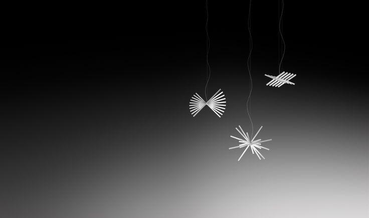 Lampa marki Vibia model RHYTHM, projekt: Arik Levy / Lamp